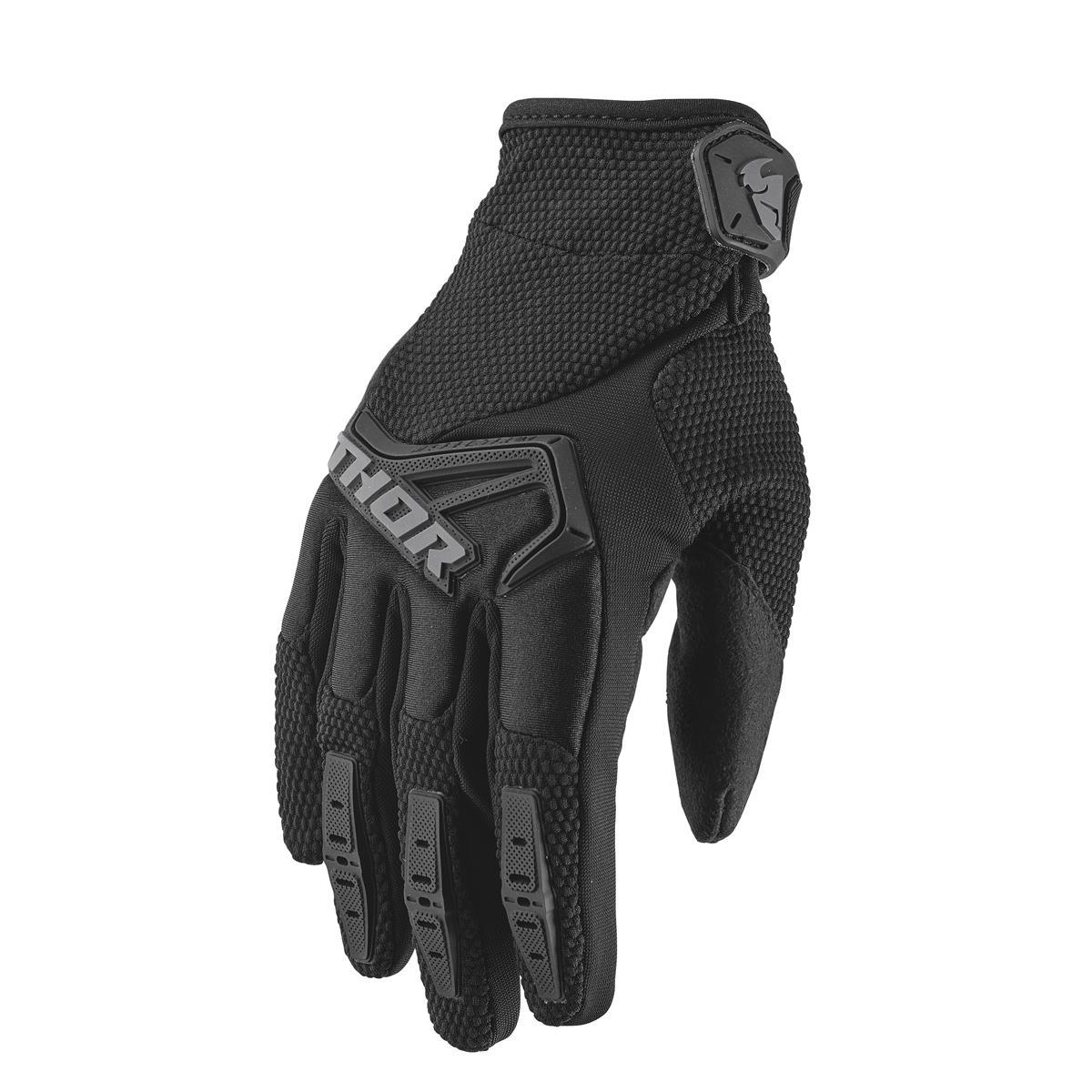 Thor Handschuhe Spectrum S9 - Schwarz