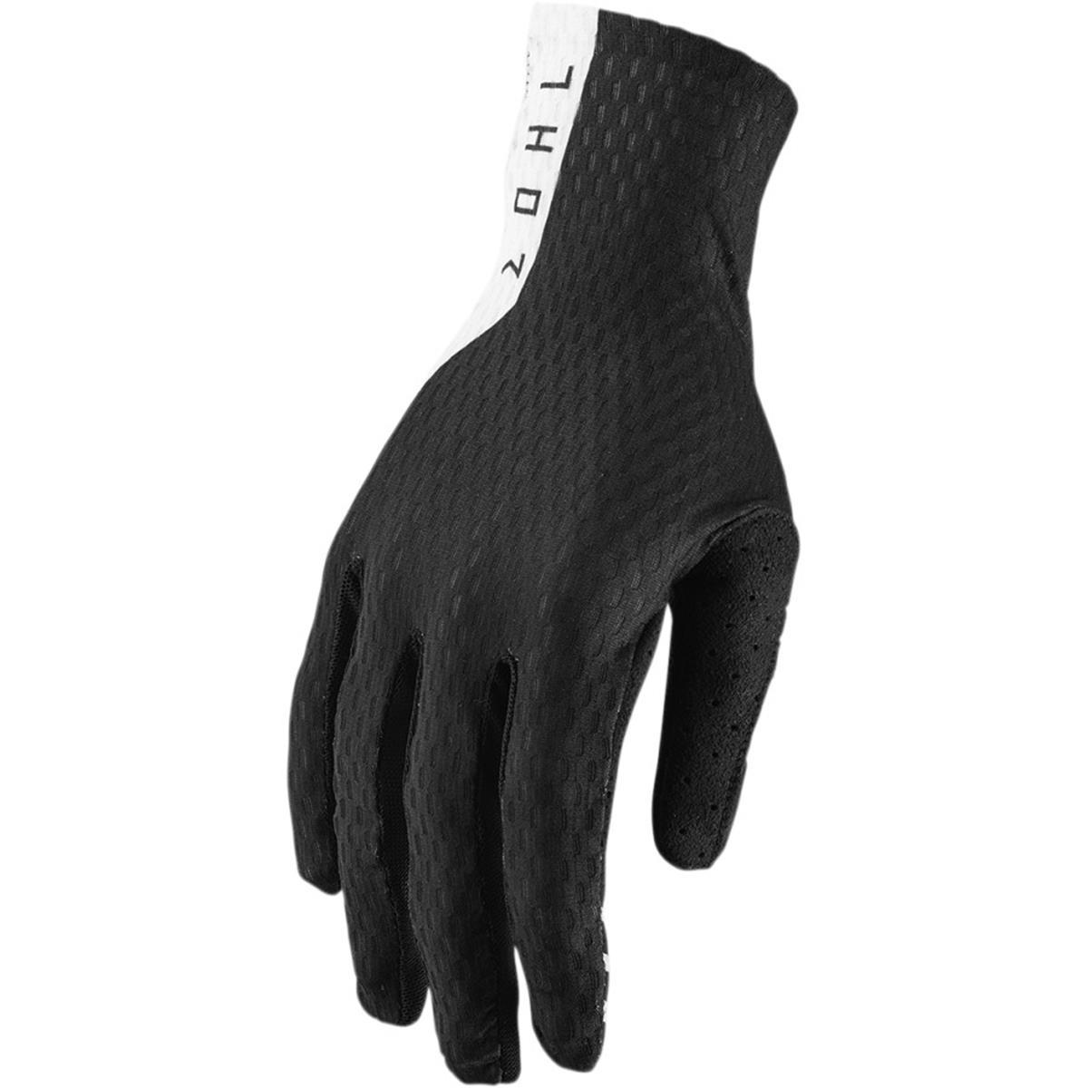 Thor Handschuhe Agile Schwarz/Weiß