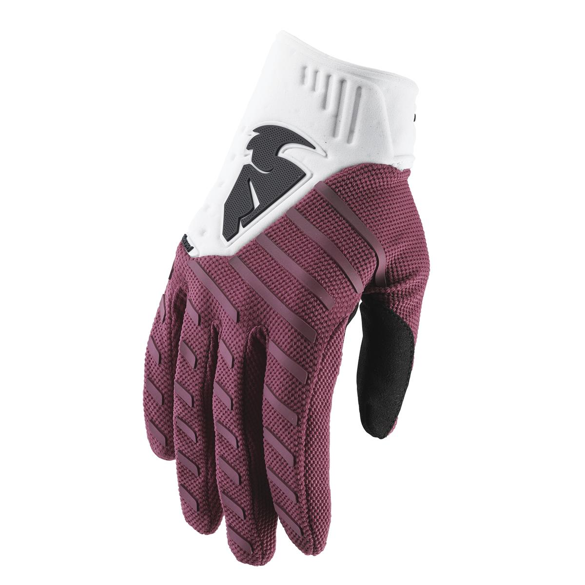 Thor Handschuhe Rebound Maroon/Weiß