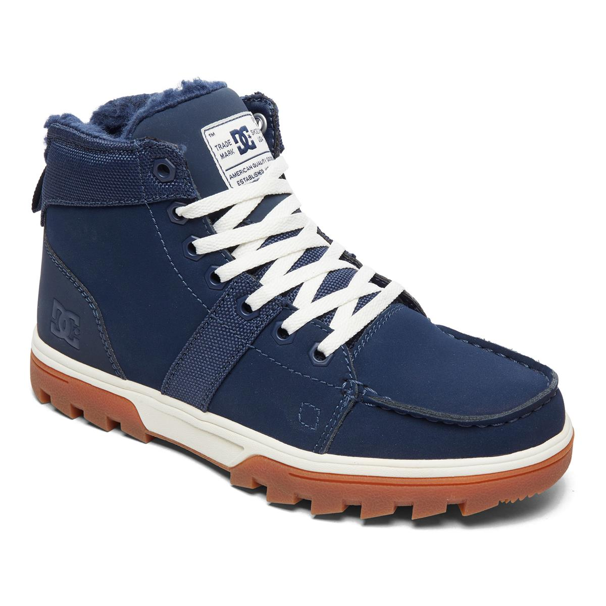 best service faa7f 78df1 DC Girls Winter Shoes Woodland Navy/Navy