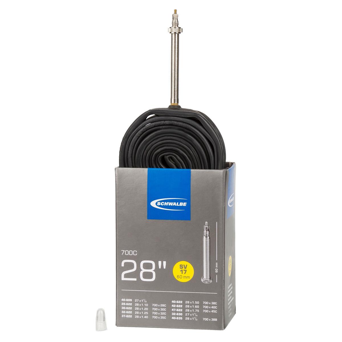 Schwalbe MTB-Schlauch SV 17 27,5 Zoll, Ventil 60 mm