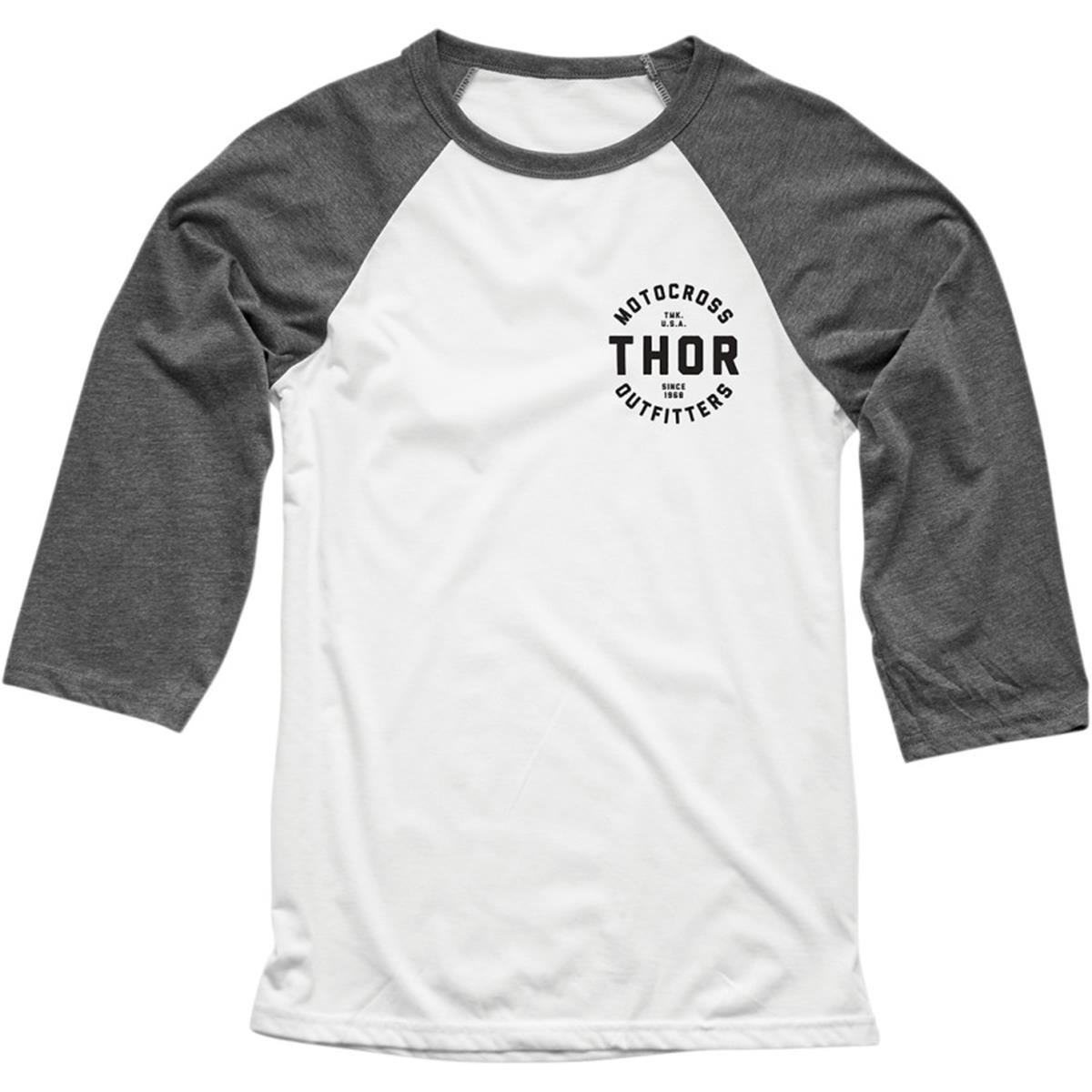 Thor 3/4-Arm Shirt Outfitters Weiß