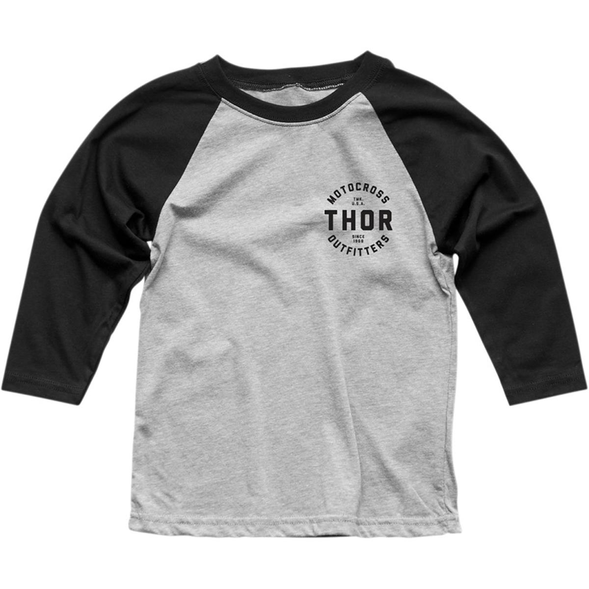 Thor Kids 3/4-Arm Shirt Outfitters Schwarz