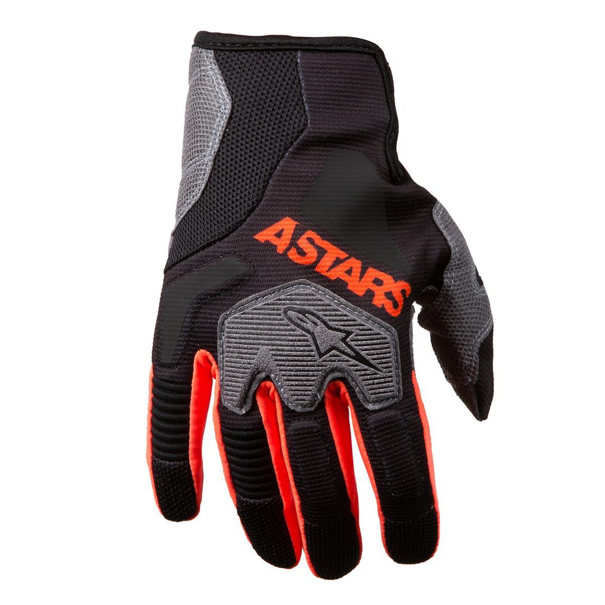 Alpinestars Handschuhe Venture R Schwarz/Orange Fluo