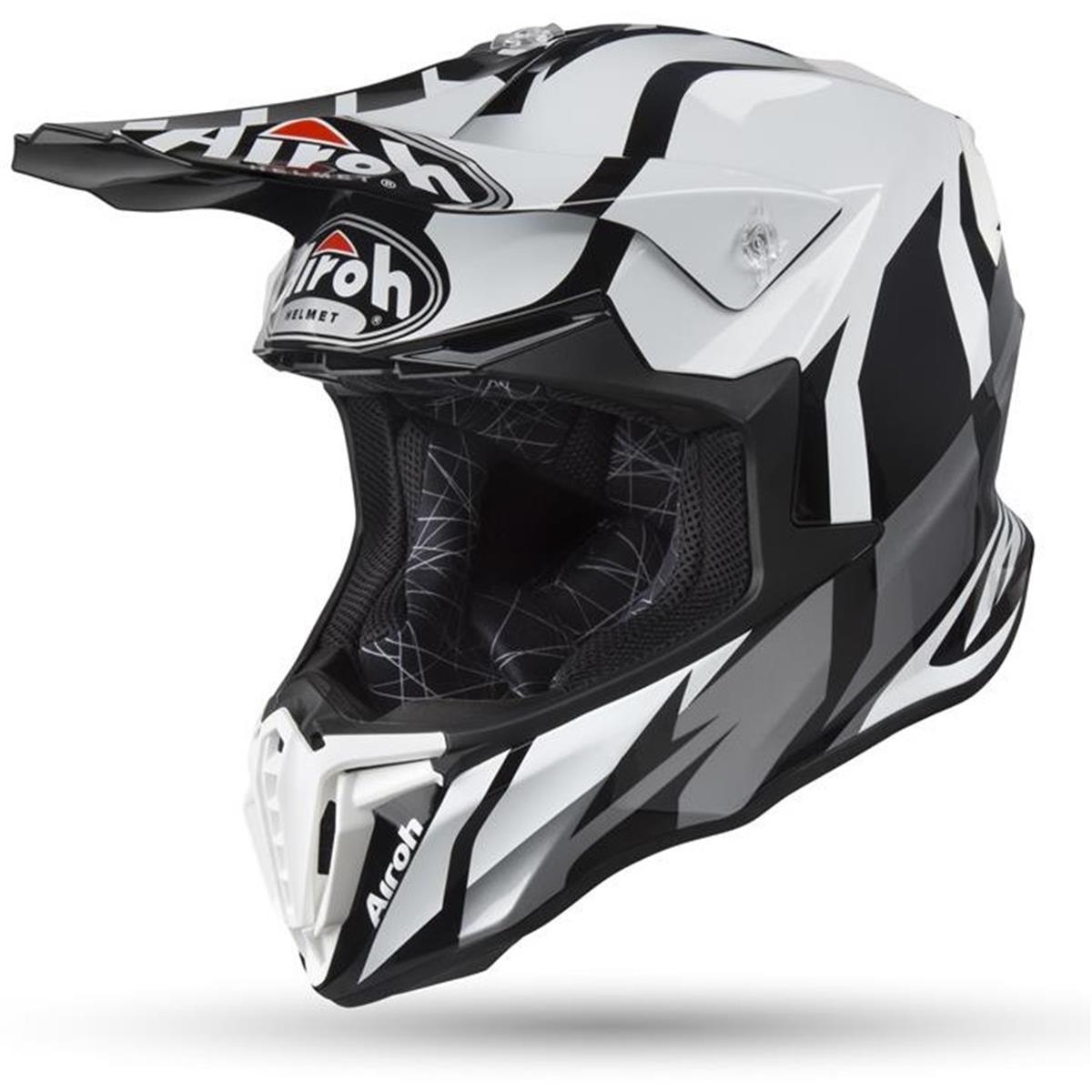 Airoh Helm Twist Great - Grau Gloss