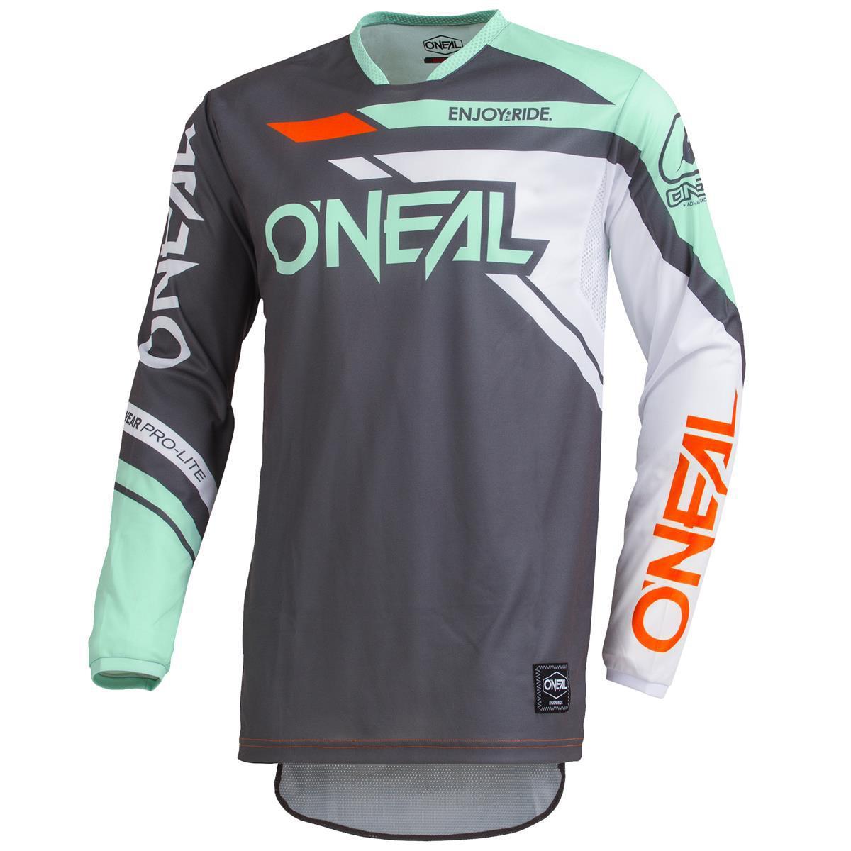 O'Neal Jersey Hardwear Rizer Grau/Mint