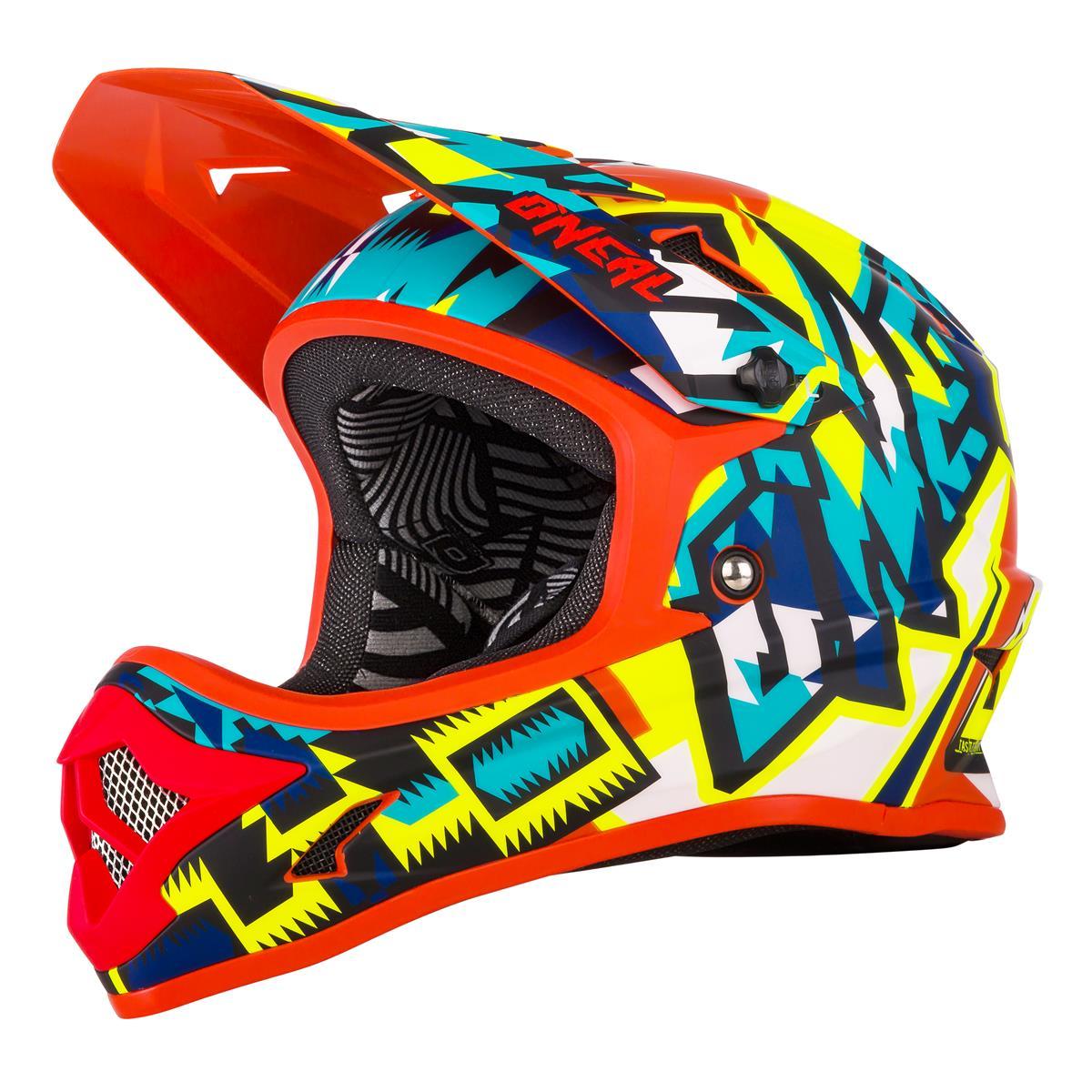 O'Neal Downhill-MTB Helm Backflip RL2 Muerta Mehrfarbig