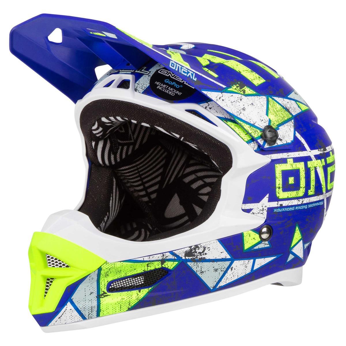 O'Neal Downhill-MTB Helm Fury RL Zen Blau