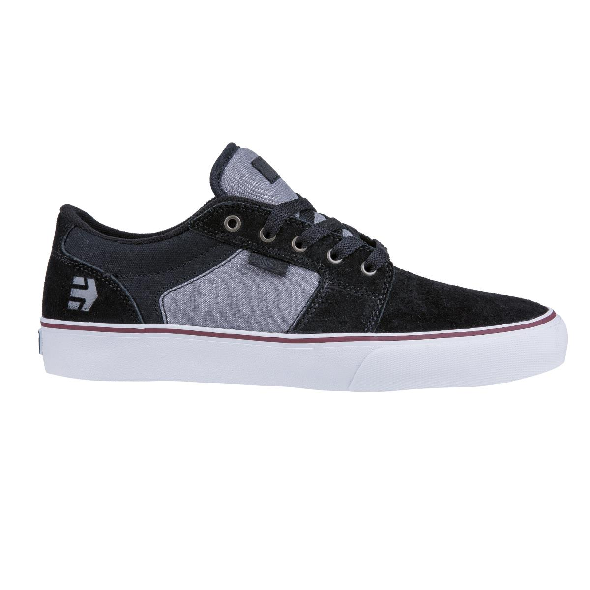 Etnies scarpe Barge Ls Nero/Grigio scuro/argento scuro/argento scuro/argento 41ac2d