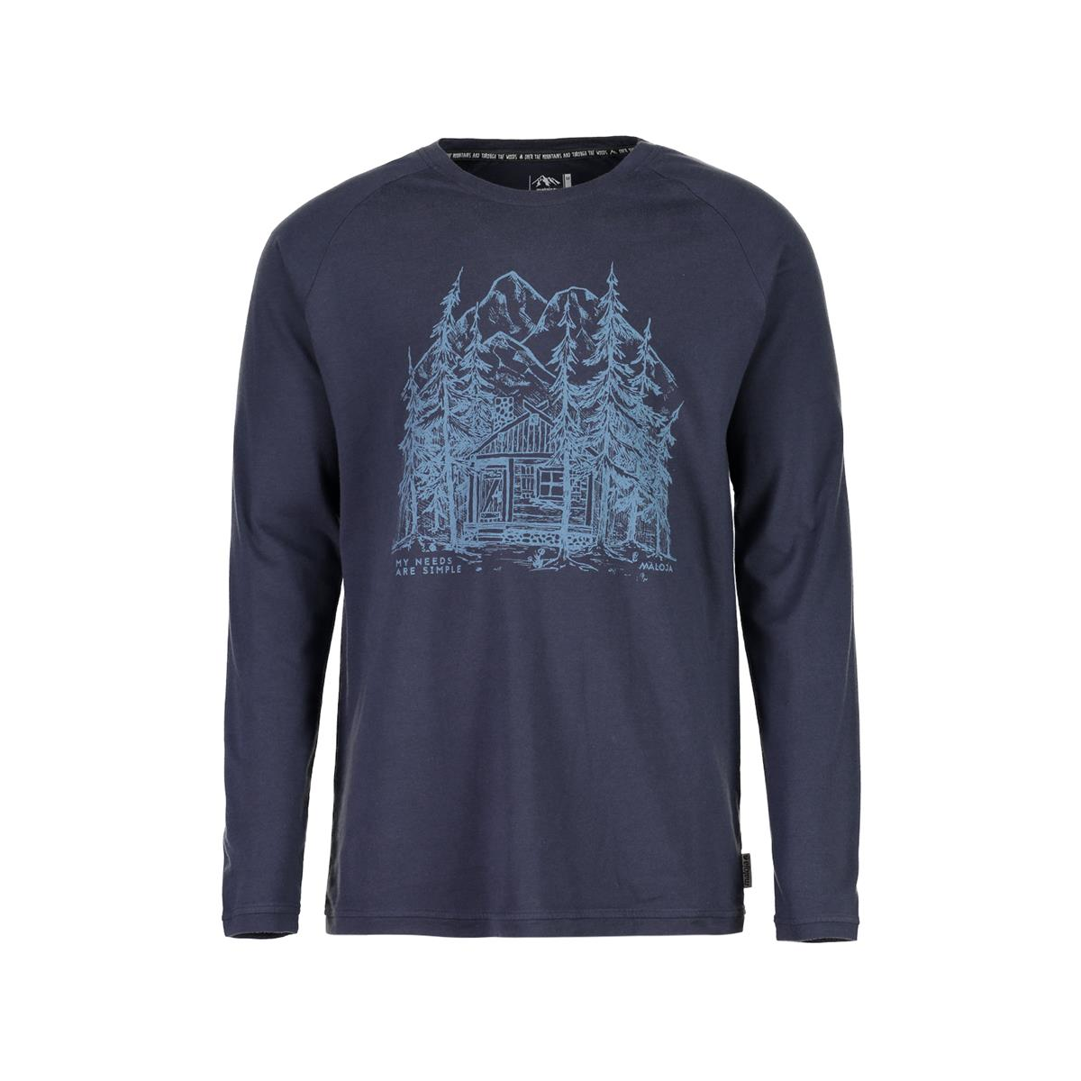 Maloja Langarmshirt PouzM. Mountain Lake