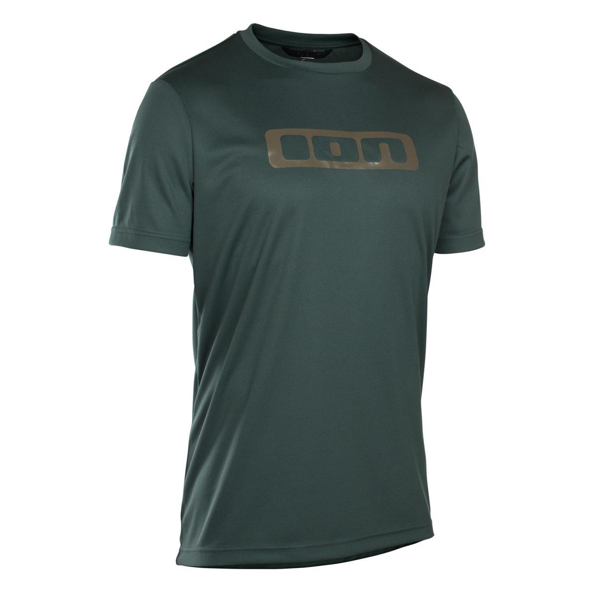 ION Freeride-Jersey Kurzarm Scrub Green Seek