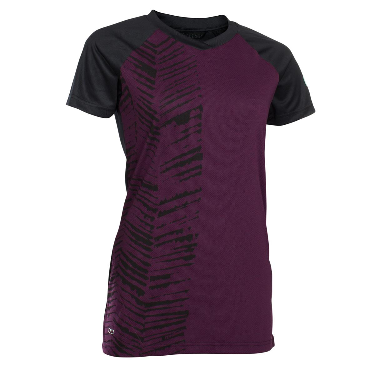 ION Girls Freeride-Jersey Kurzarm Scrub Amp Pink Isover