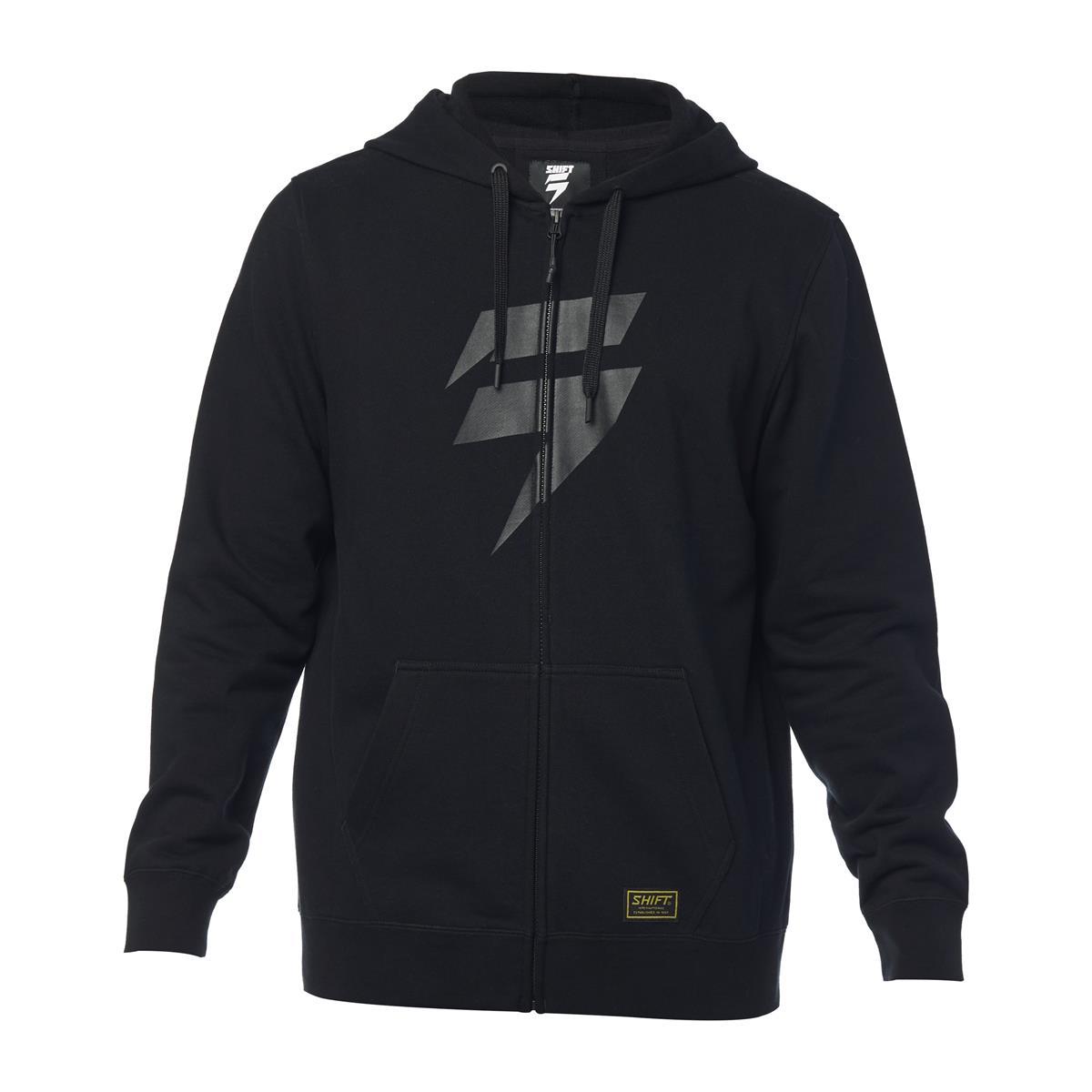 Shift Fleece Zip-Hoody Corp Schwarz