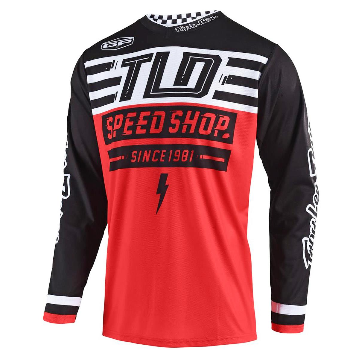 Troy Lee Designs Jersey GP Air Bolt - Rot