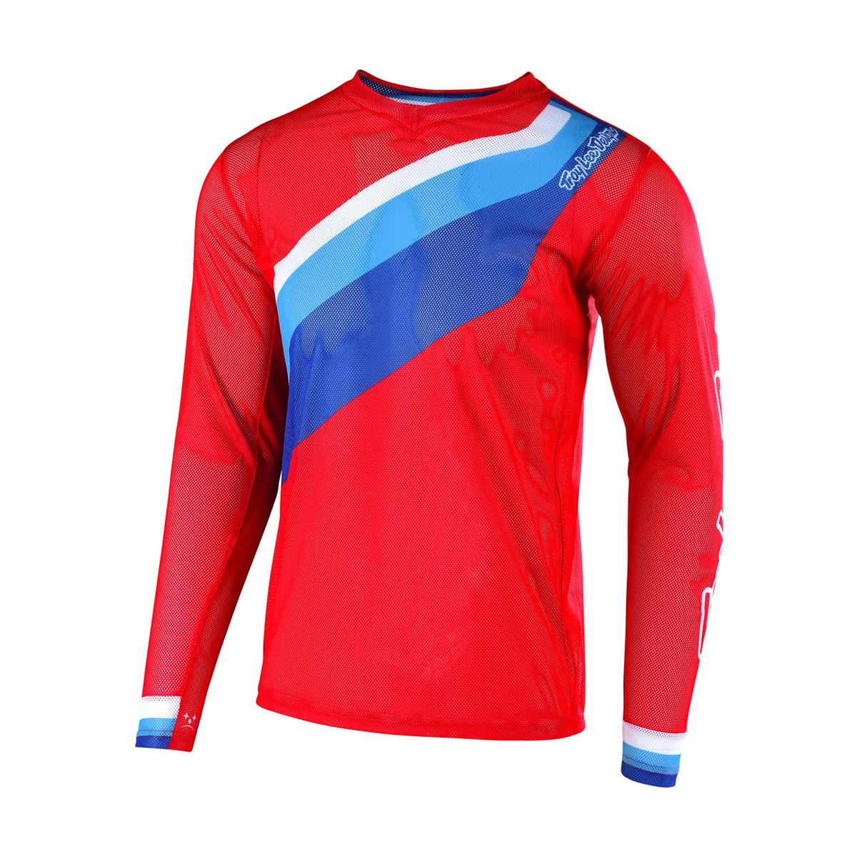 Troy Lee Designs Jersey GP Air Prisma 2 - Rot