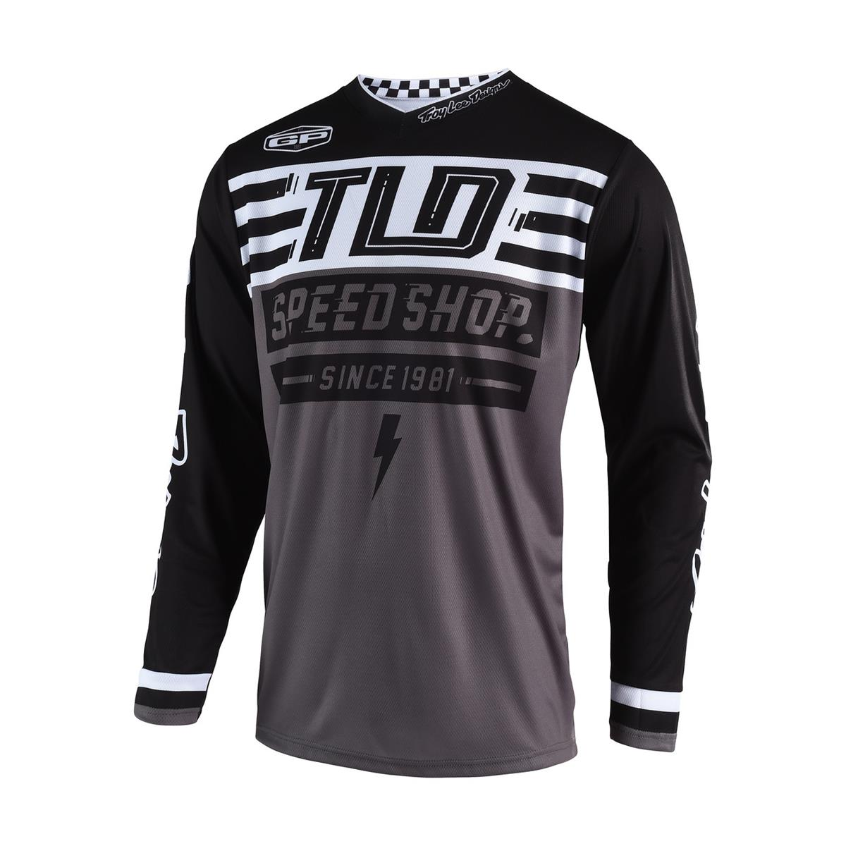 Troy Lee Designs Jersey GP Air Bolt - Schwarz