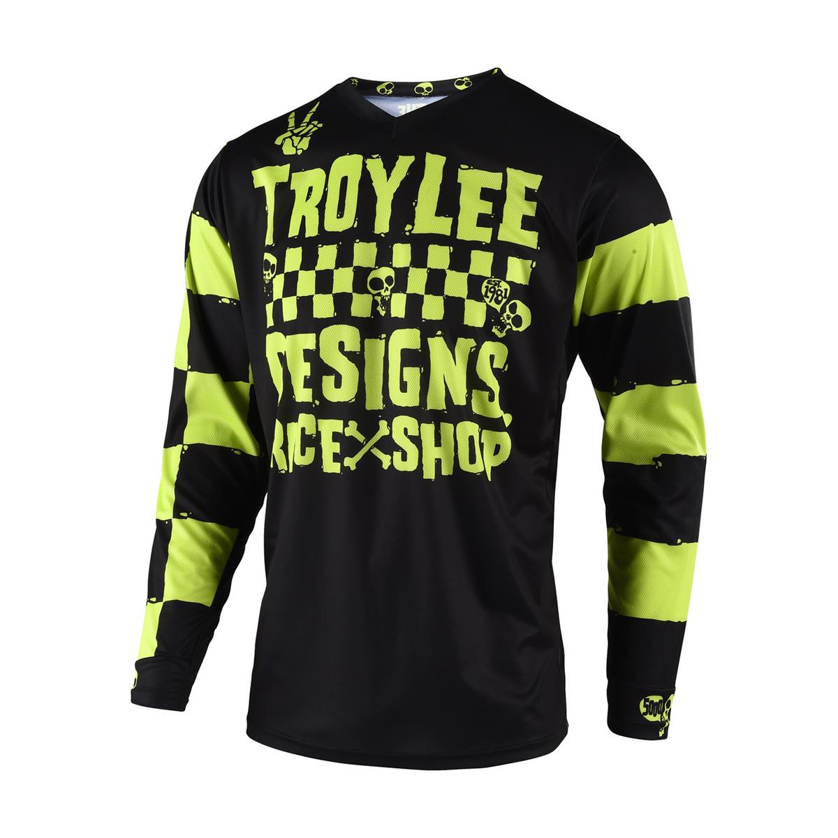 Troy Lee Designs Kids Jersey GP Raceshop 5000 - Lime