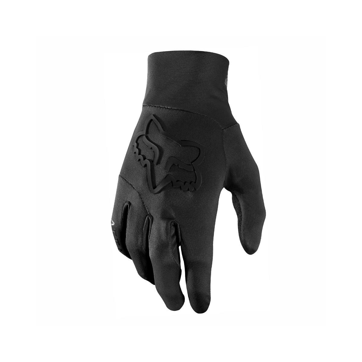 Fox Bike-Handschuhe Attack Water Schwarz