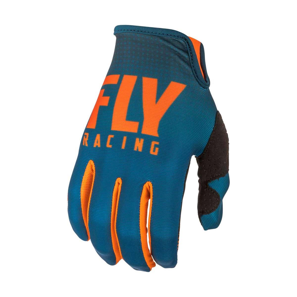 Fly Racing Handschuhe Lite Hydrogen Orange/Navy