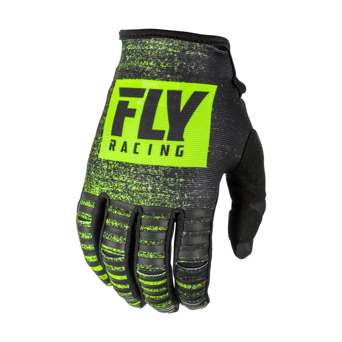 Fly Racing Handschuhe Kinetic Noiz Schwarz/Hi-Vis