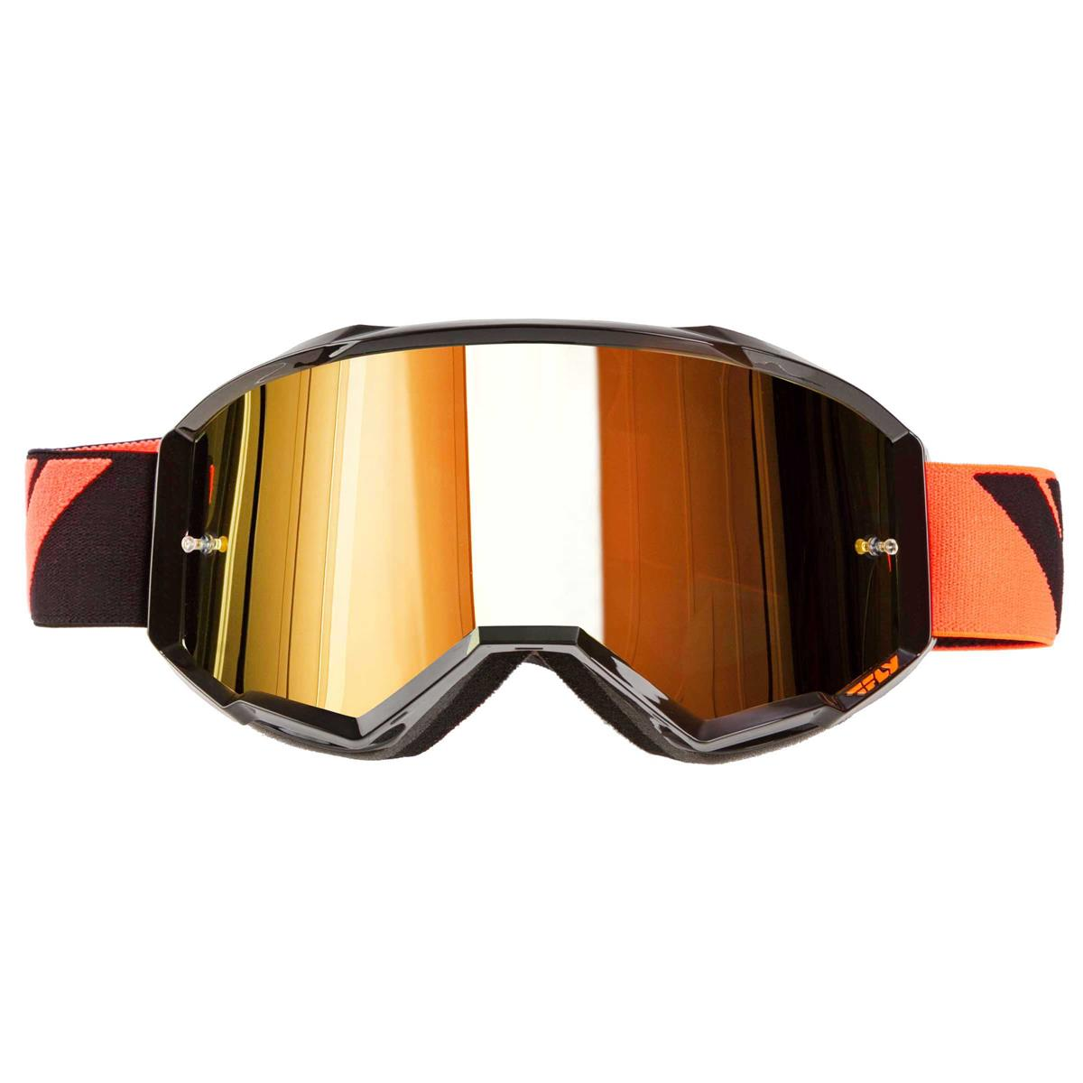 Fly Racing Zone Graphic Mens Off Road Dirt Bike Racing Motocross Goggles
