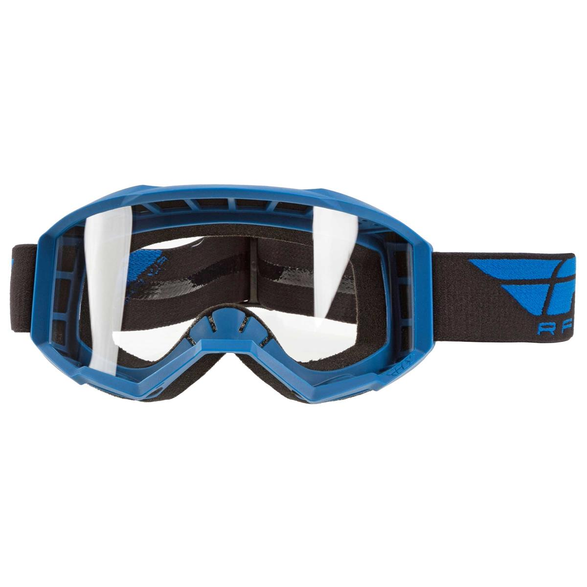 Fly Racing Crossbrille Focus Blau - Klar