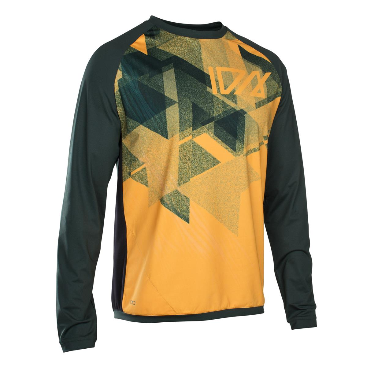 ION All Mountain-Jersey Langarm Traze Amp Smiley Yellow