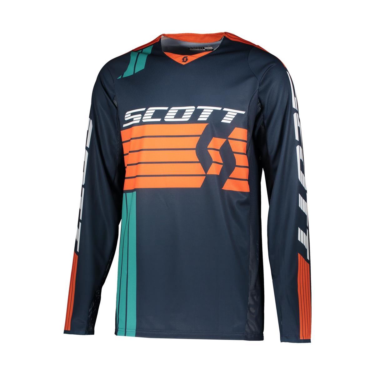 Scott Jersey 450 Podium Blau/Orange