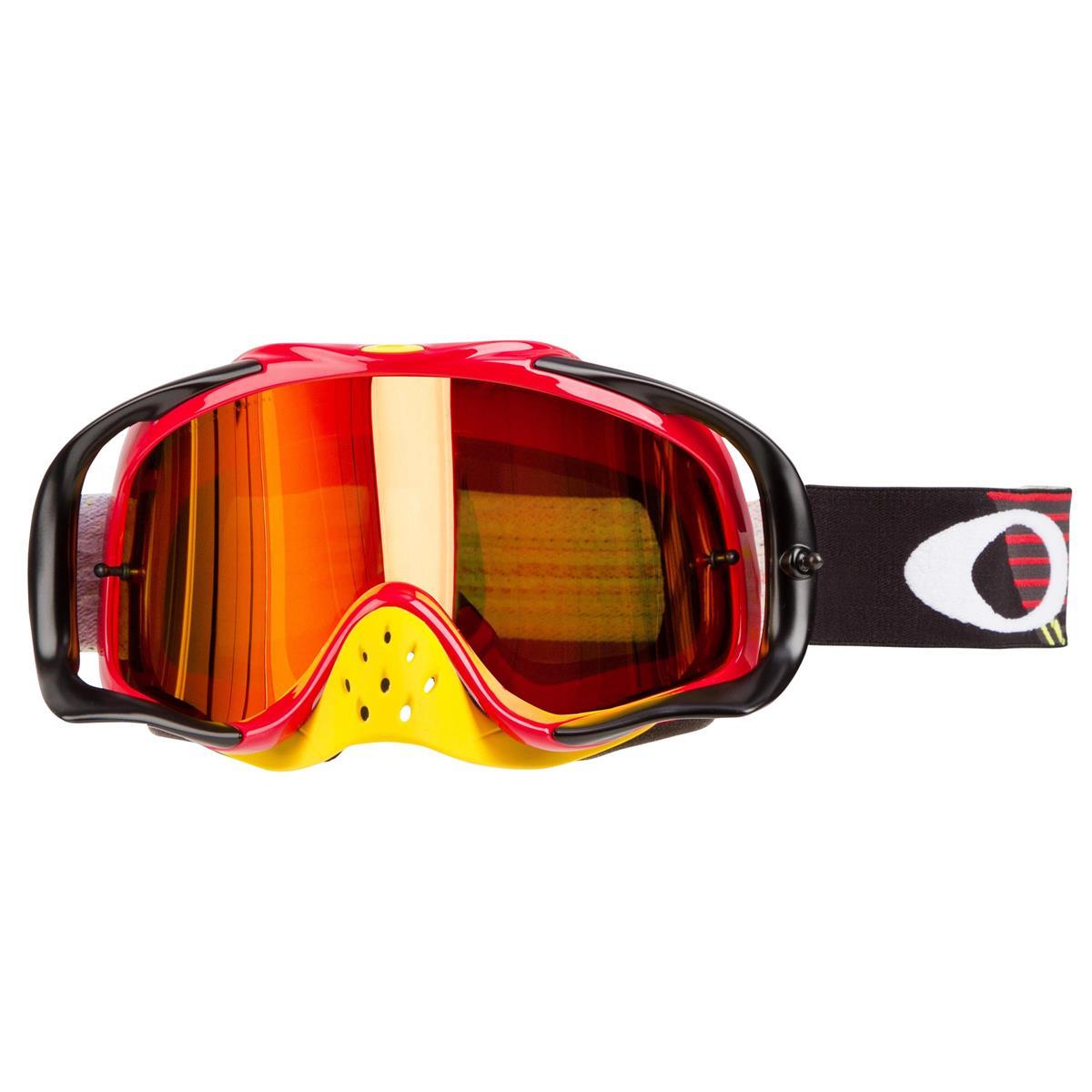 d3513e619c Oakley MX Goggle Crowbar MX Circuit Red Yellow - Fire Iridium 2019 ...