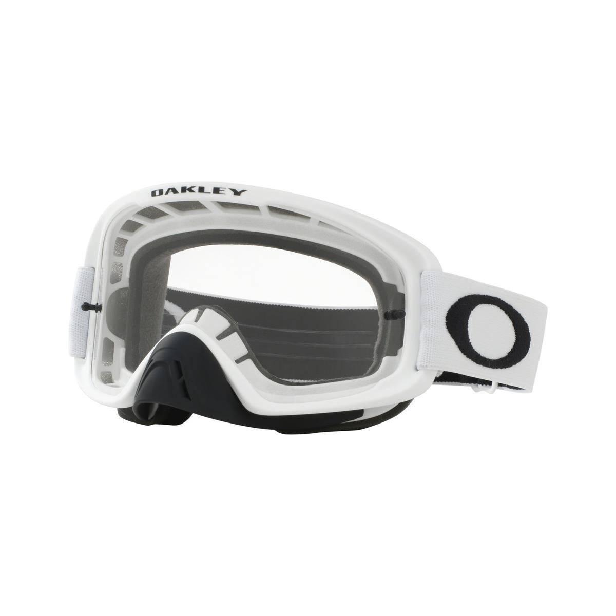 Oakley Crossbrille O Frame 2.0 MX Matt Weiß - Klar & Dunkelgrau