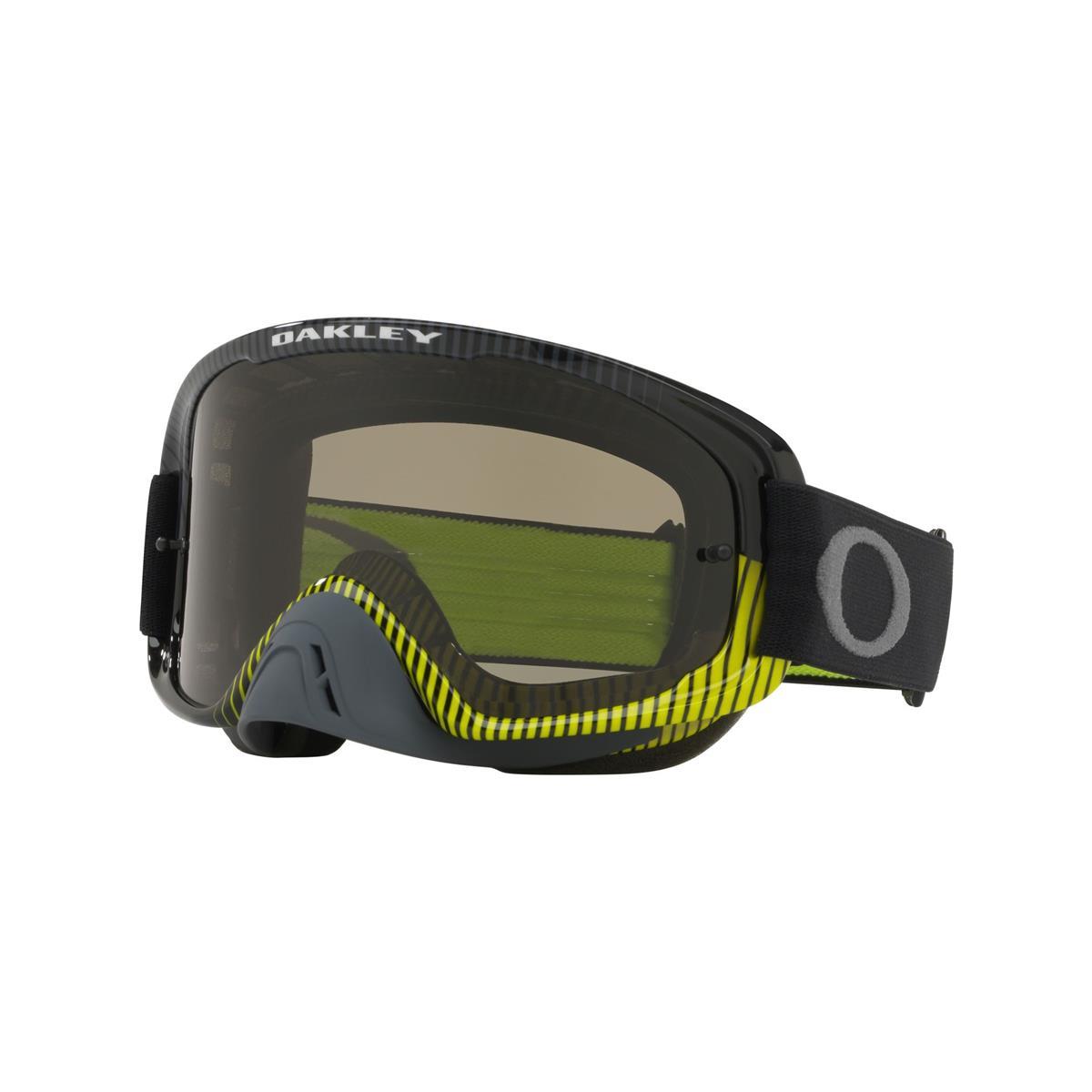 Oakley Crossbrille O Frame 2.0 MX Sand - Frequency Gunmetal Grün - Dunkelgrau