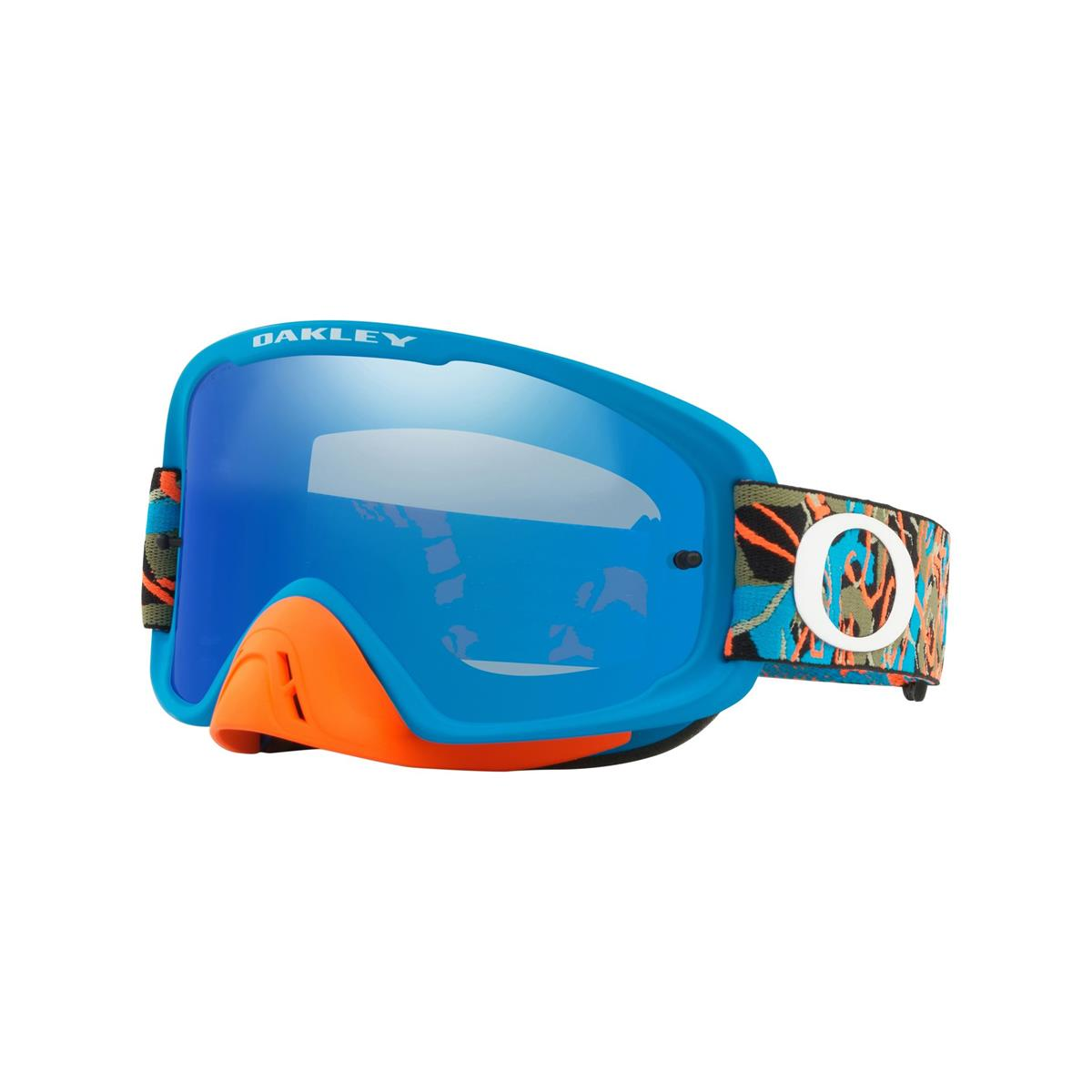 7125a529ea Oakley MX Goggle O Frame 2.0 MX Camo Vine Jungle Blue Orange - Black ...