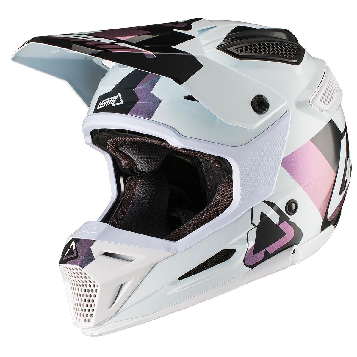 Leatt Helm GPX 5.5 Composite V19.1 Weiß/Schwarz