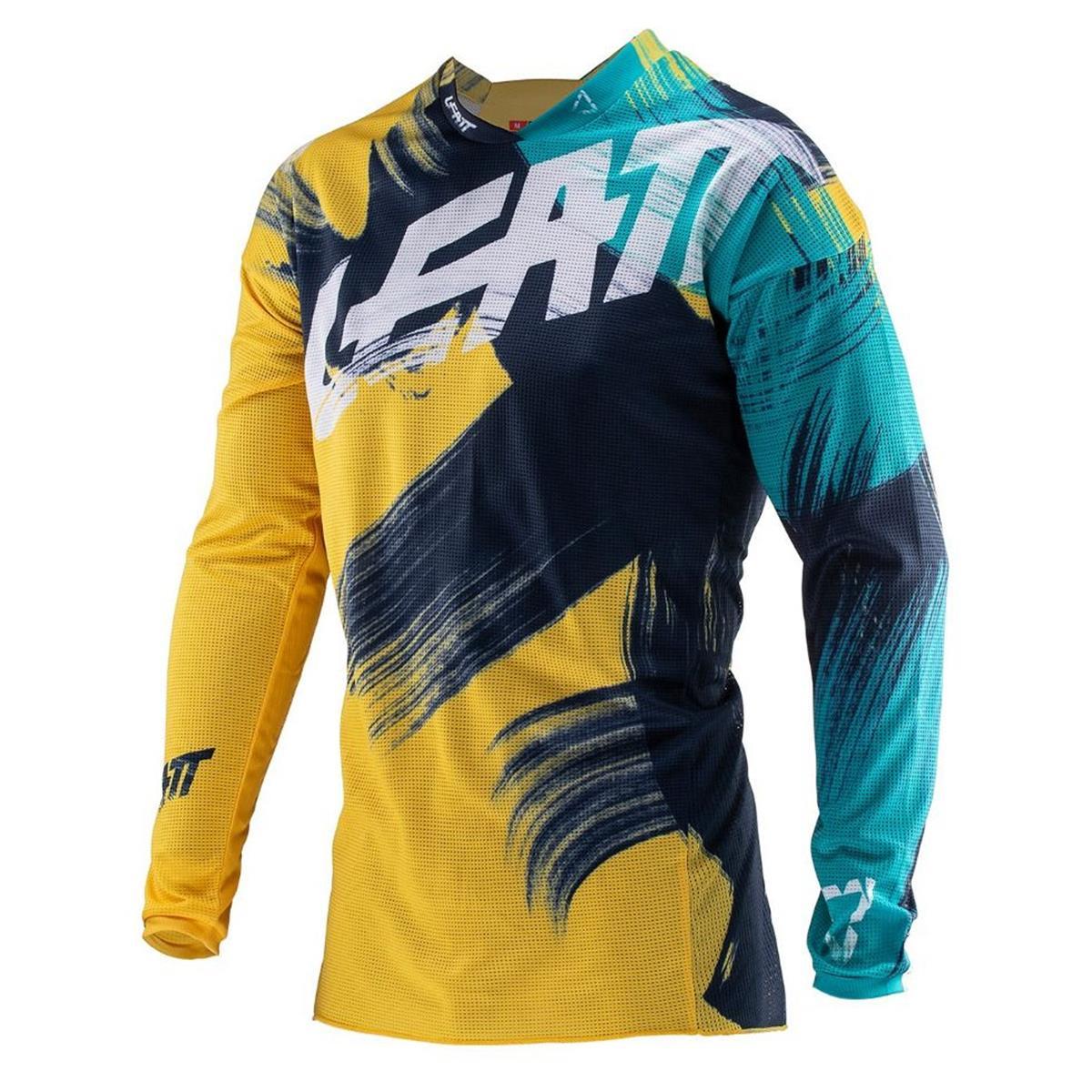 Leatt Jersey GPX 4.5 Lite Gold/Teal