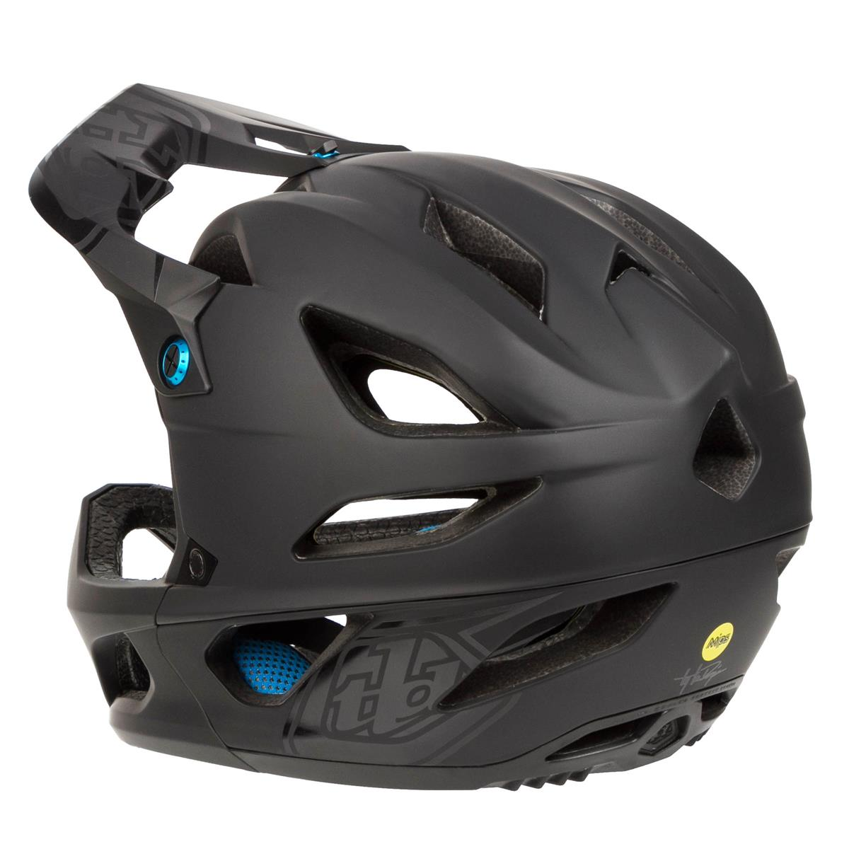 troy lee designs enduro mtb helmet stage mips stealth. Black Bedroom Furniture Sets. Home Design Ideas
