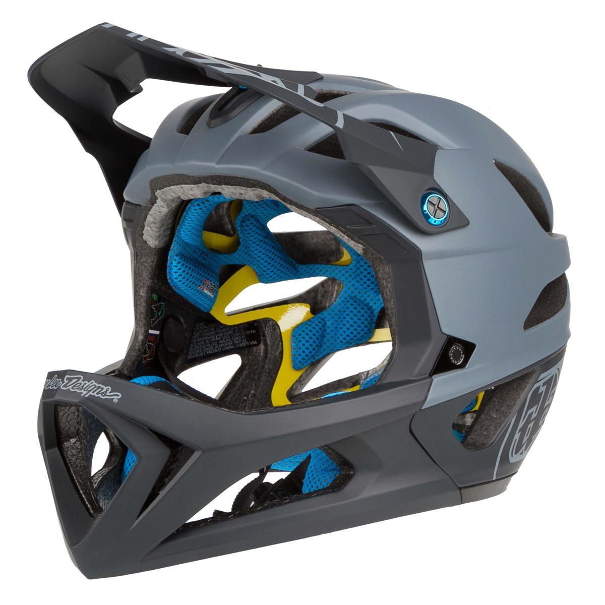 Troy Lee Designs Enduro-MTB Helm Stage MIPS Stealth Grey