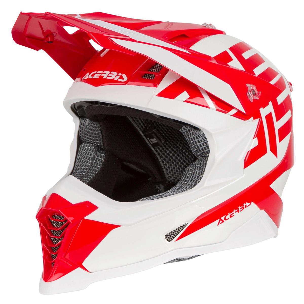 Acerbis Helm X Racer VTR Rot/Weiß