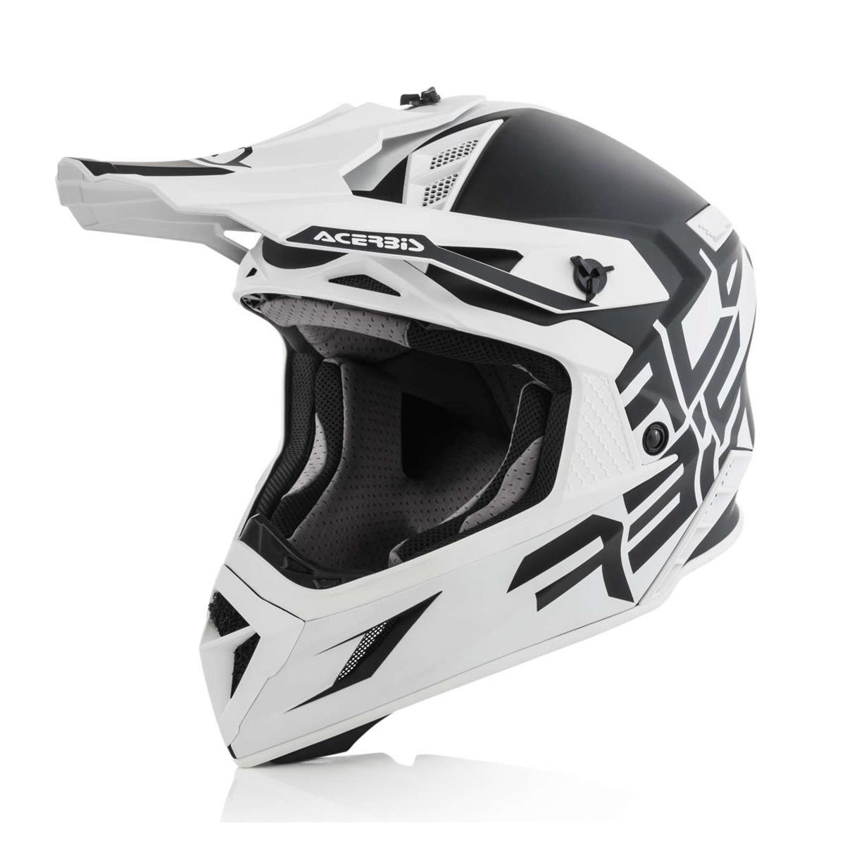 Acerbis Helm X Pro VTR Schwarz/Weiß