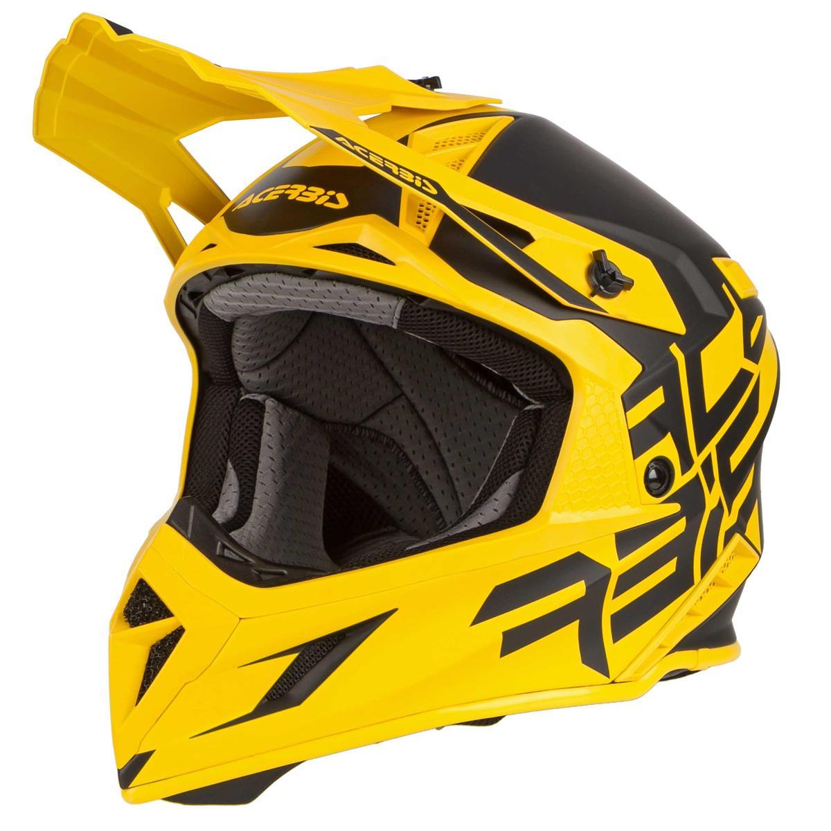 Acerbis Helm X Pro VTR Schwarz/Gelb