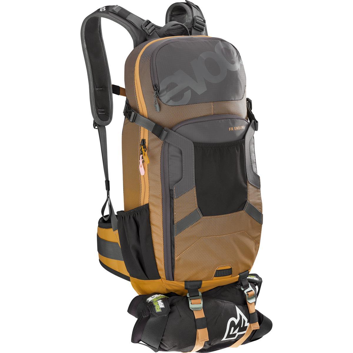 Evoc Protektor-Rucksack FR Enduro 16L Carbon Grey/Loam