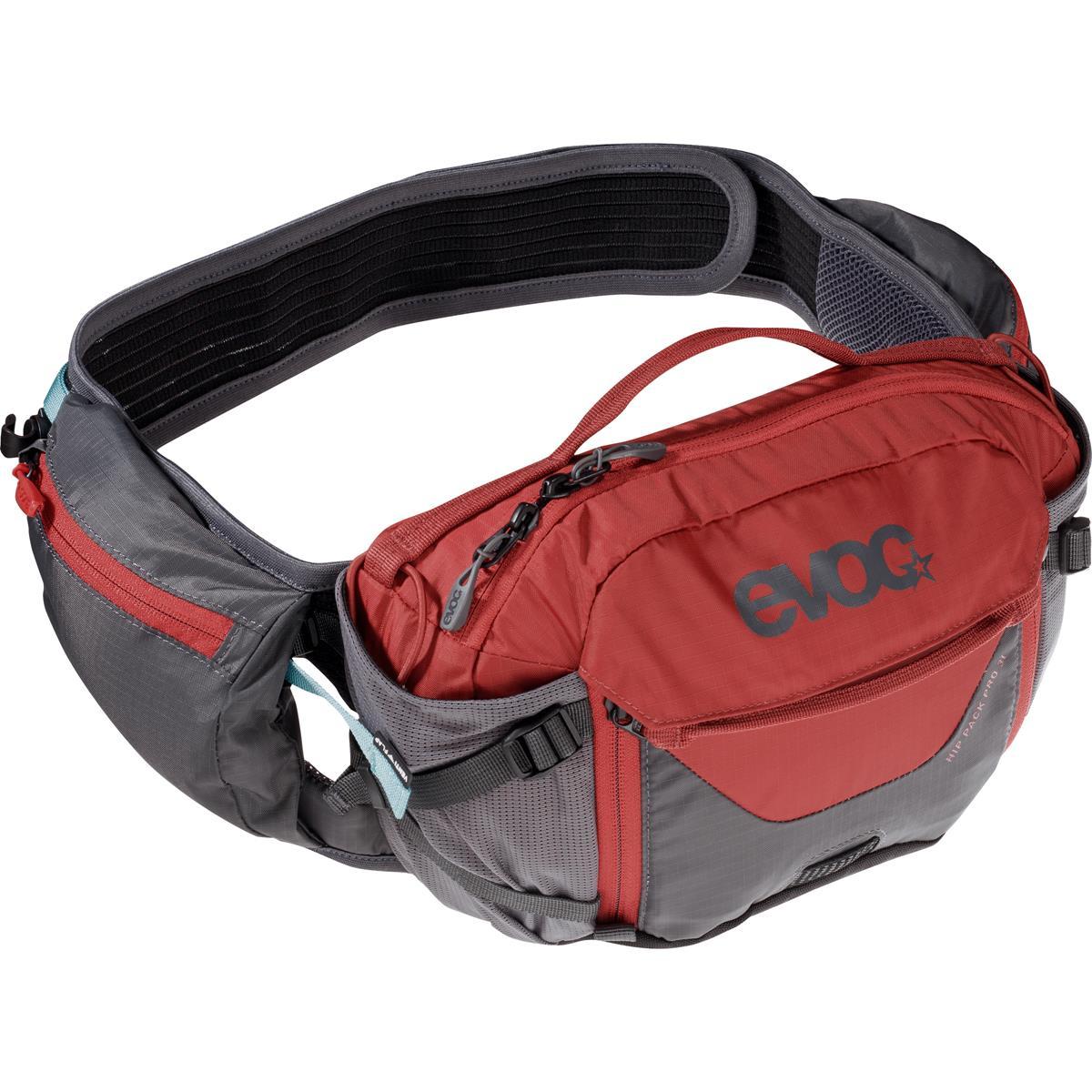 Evoc Hüfttasche mit Trinksystem Hip Pack Pro 3L Carbon Grey/Chili Red