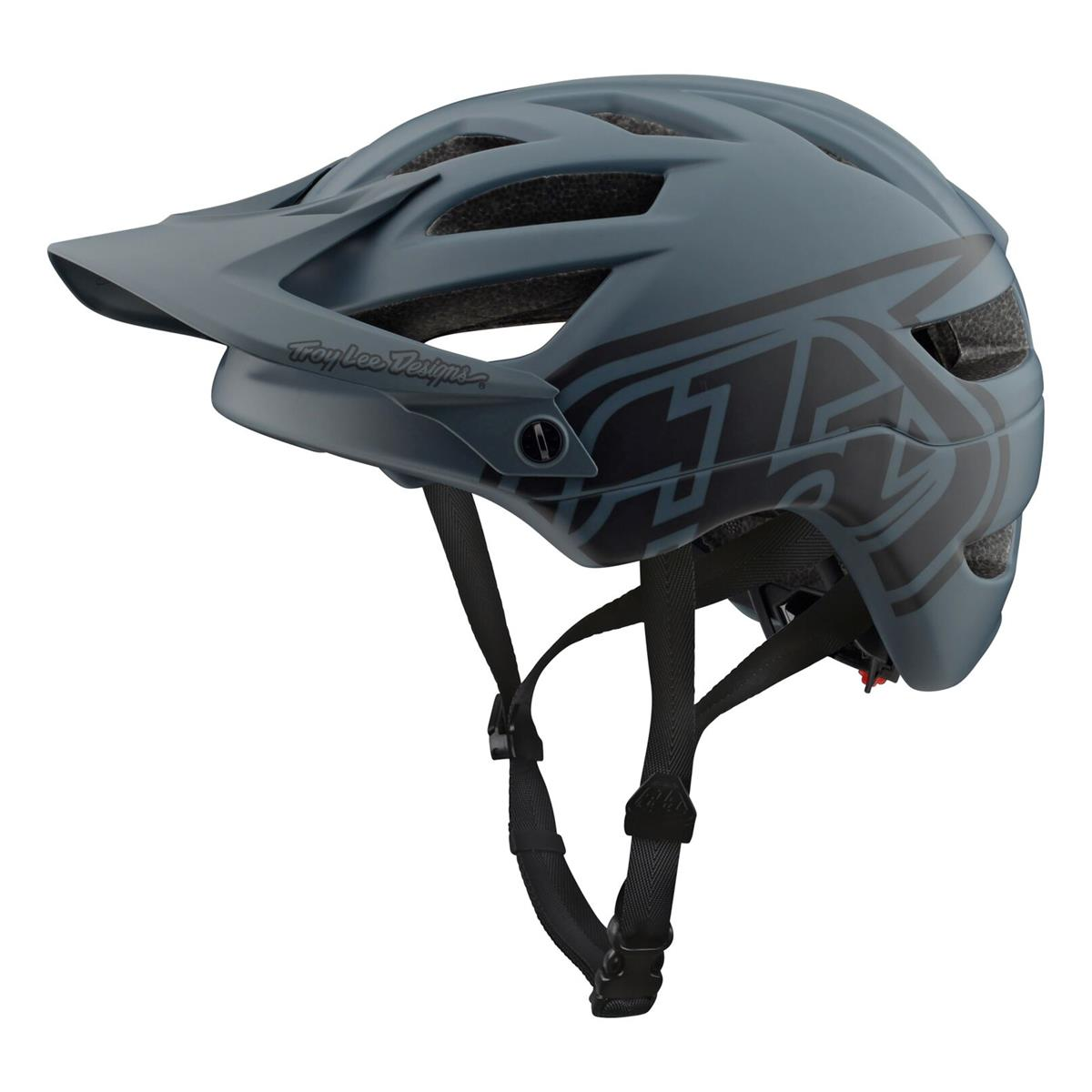 Troy Lee Designs Enduro-MTB Helm A1 Drone - Grau/Schwarz