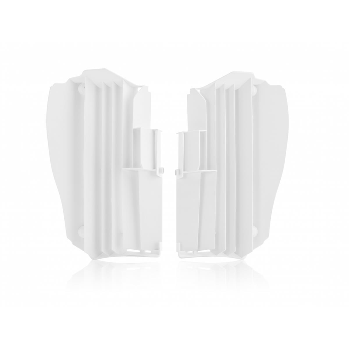 Acerbis Kühlerschutzlamellen  Yamaha YZF 450 18-19, Weiß
