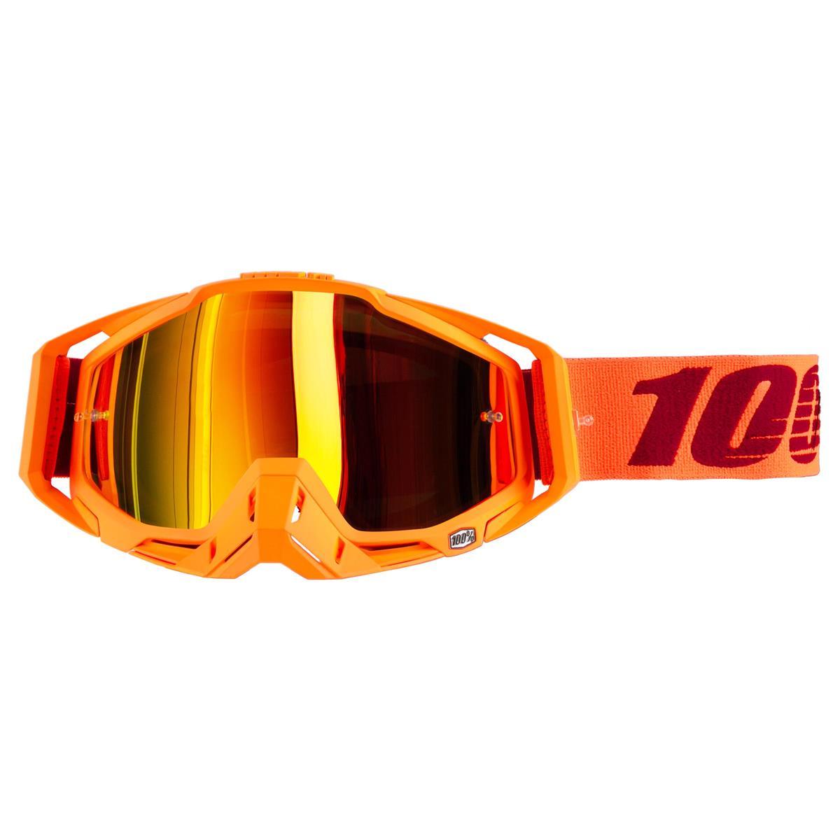 100% Goggle The Racecraft Menlo - Mirror Gold Anti-Fog