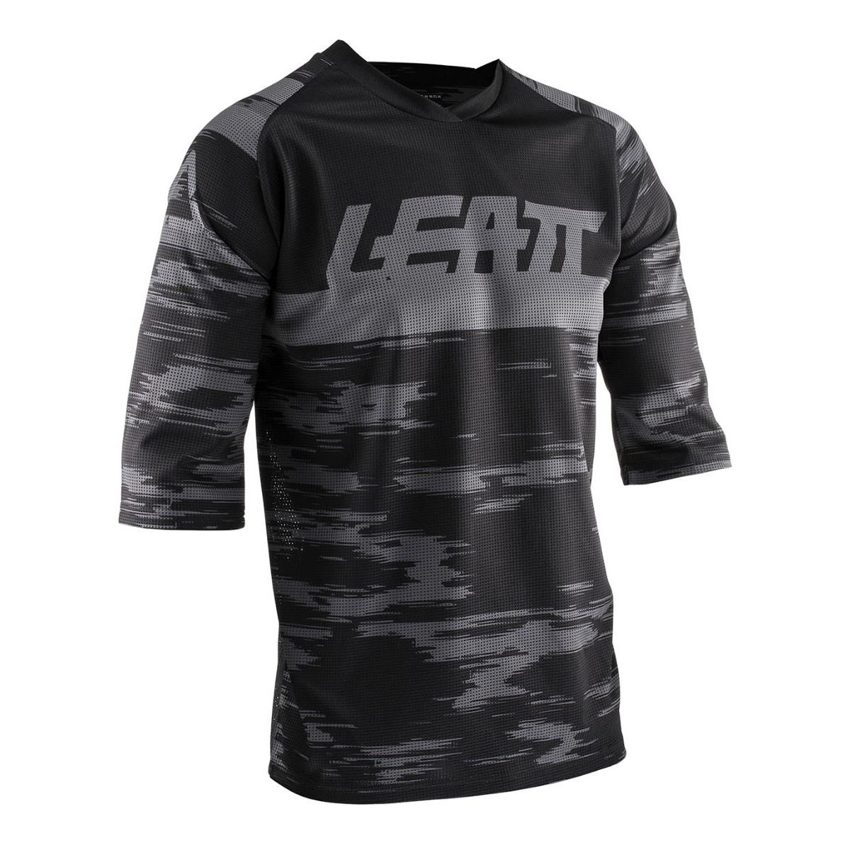 Leatt 3/4-Arm Jersey DBX 3.0 3.0 3.0 Schwarz 27bee3
