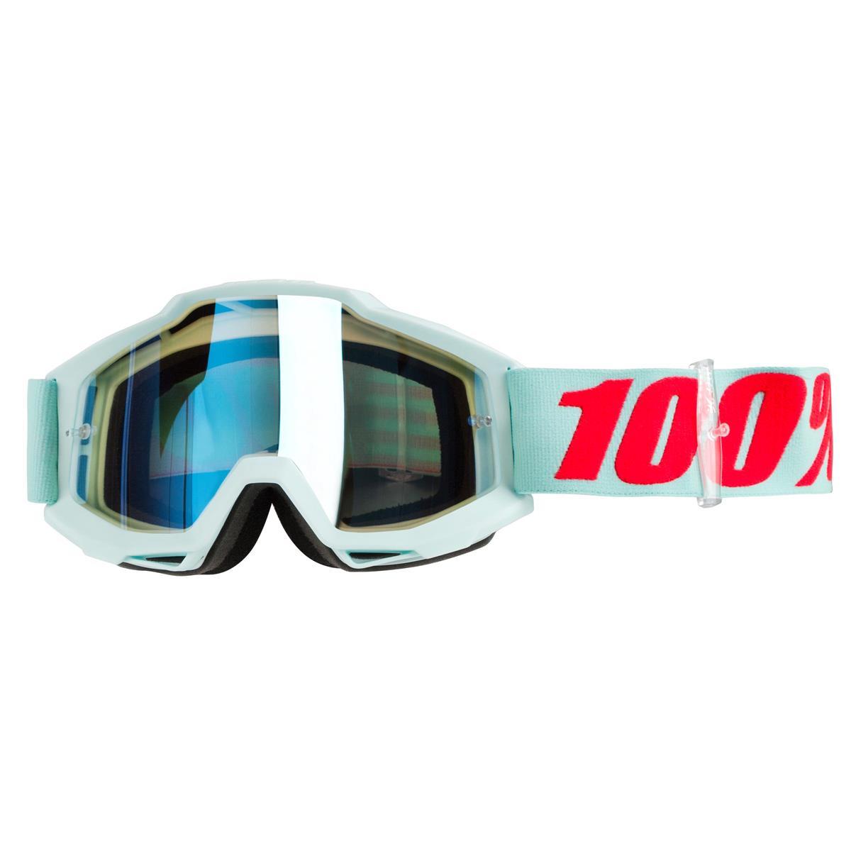 100% Goggle The Accuri Maldives - Mirror Blue Anti-Fog