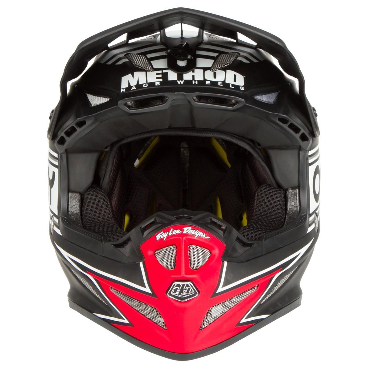 Troy Lee Designs Helmet SE4 Carbon MIPS ULTRA Limited Edition Adidas Team Black