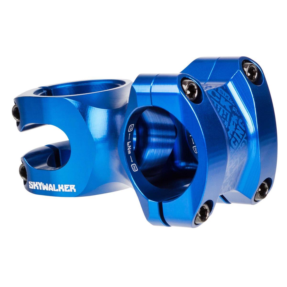 Sixpack MTB-Vorbau Skywalker Blau, 31.8 mm, Vorlauf 50 mm