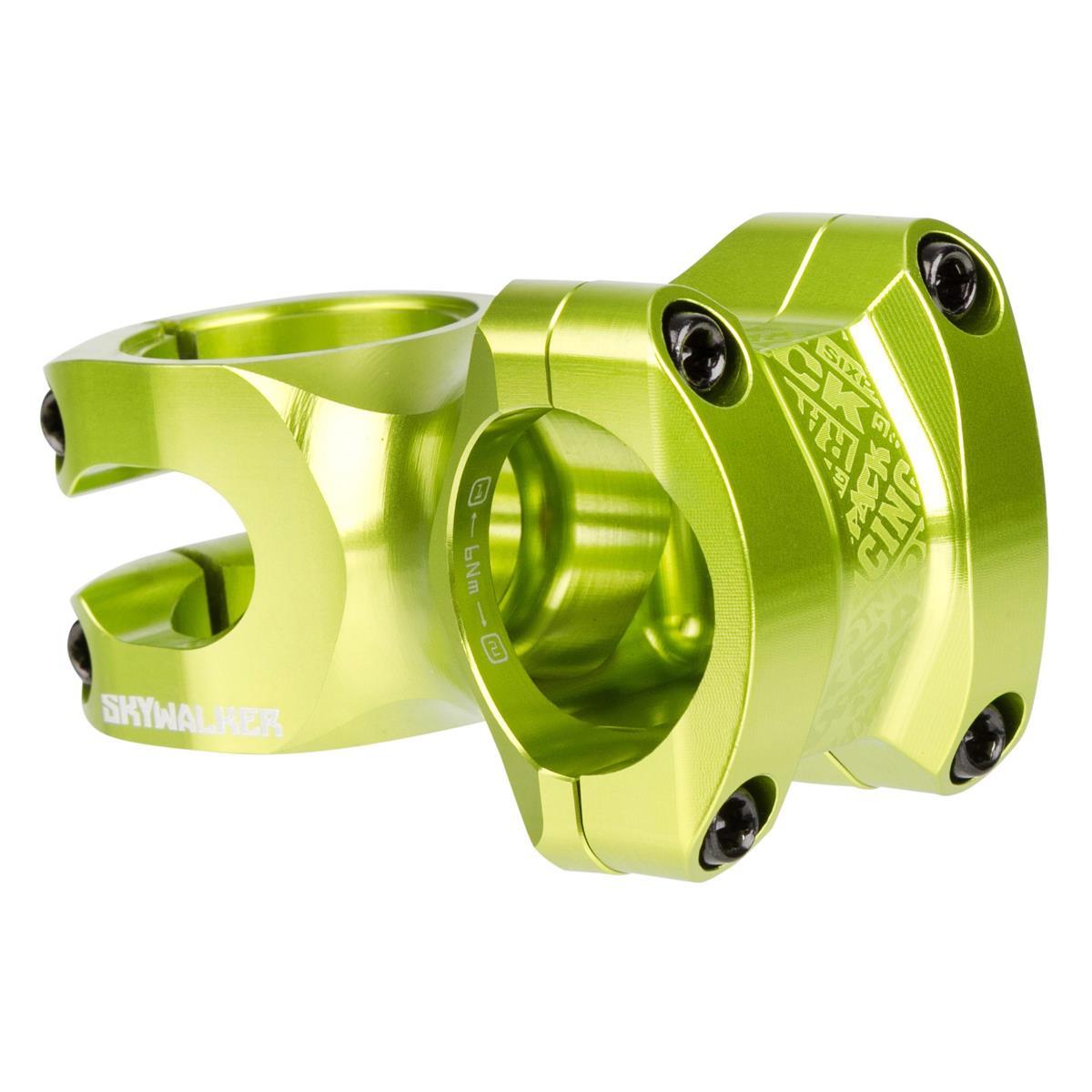 Sixpack MTB-Vorbau Skywalker Electric-Green, 31.8 mm, Vorlauf 50 mm
