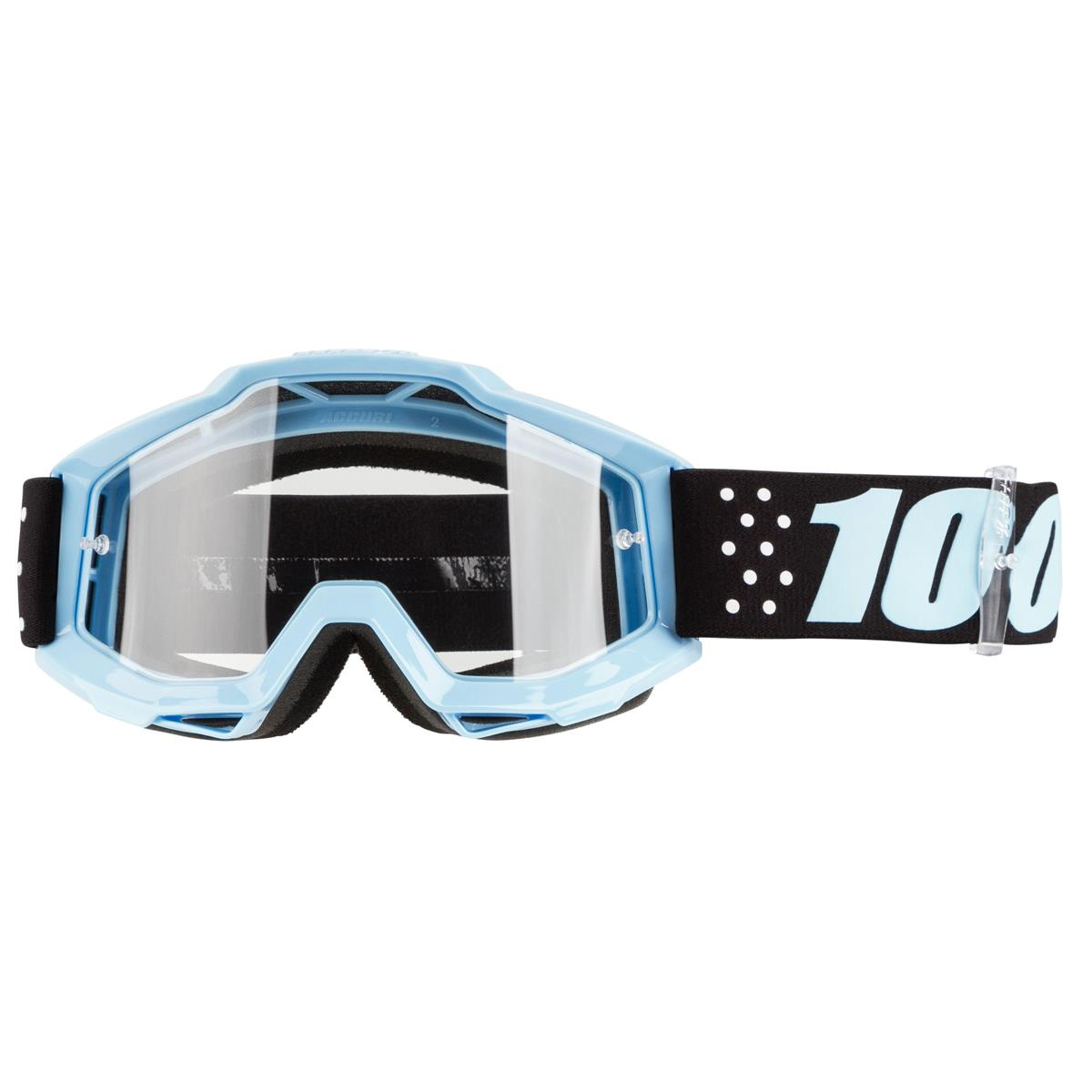 100/% Accuri Motocross MX Anti-Fog Clear Lens Goggles